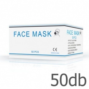 Surgical disposable face mask, 3-Layer - 50 pcs/package