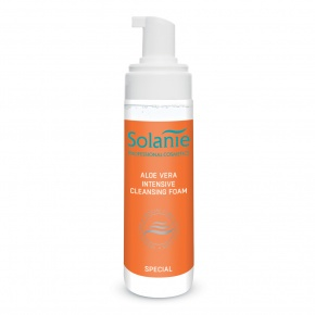 Solanie Aloe Vera Intensive Cleansing Foam 200 ml