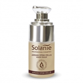 Solanie Argan plant stem cells renew serum 15 ml